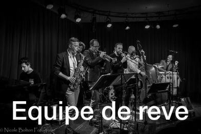 Equipe de reve, website tim band pagina foto