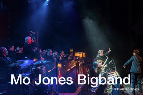 Mo Jones bigband website tim band pagina foto